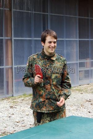 ocio en uniforme