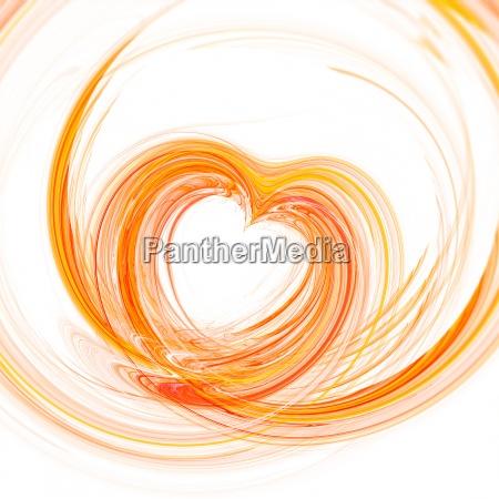 corazon abstracto