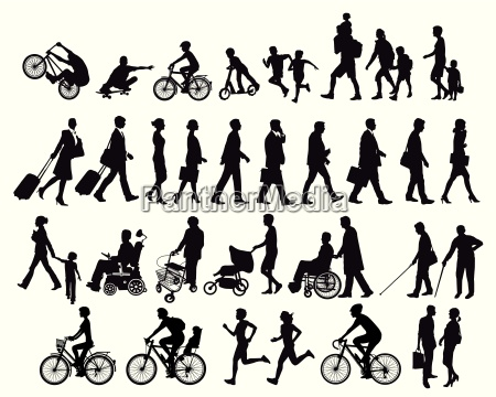 people on the move and activities