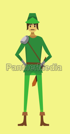 digital vector kid cartoon simple character
