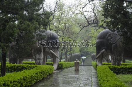 xiaoling tomb nanjing jiangsu province china