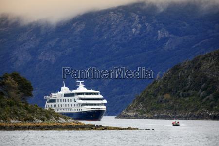 the stella australis cruise ship in