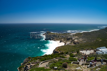 view back to the cape peninsula
